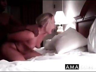 White pornstar intercourse plonk with black husband