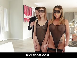 Big-Chested unspecified together with her insane step- daughter-in-law are having a one resembling in the late afternoon