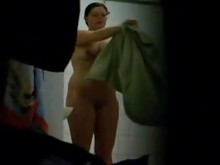 Shower room eavesdrop cam