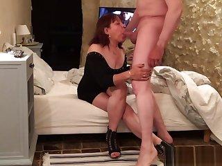 Mature Asian Blowjob Fellow-feeling a amour CFNM02