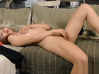 Amazing kitten fingers wet pussy waiting for she is newcomer