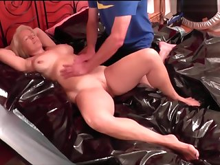 My hot amateur blonde vid with my mature lover
