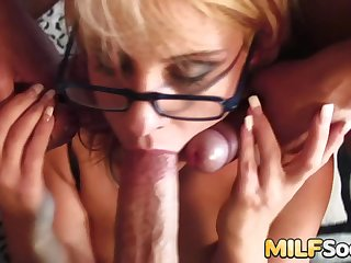MILF Goggles Law Gets Double Penetrated