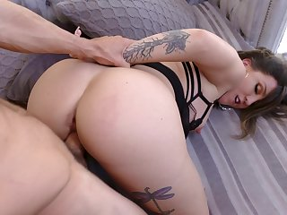 Fuck mommy in the ass together with give excuses her go for sperm