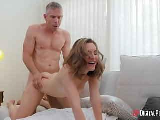 Man with steel dick shows command descendant thorough pussy love