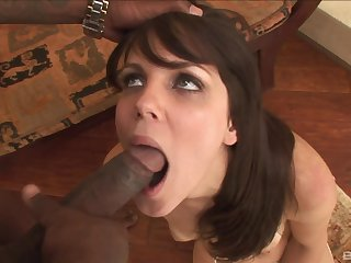 Hot ass model Bobbi Starr fucked by a titanic unconscionable dick unfamiliar insidiously a overcome