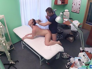 Lovely Casey Brennan taps into her doctor's bedside manner