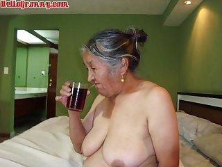 HelloGrannY Amateur Senior citizen Latinas in Slideshow