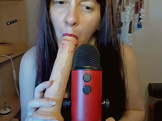 Asmr mouth politic and deeptroath for this super titillating video