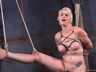 Non-specific beyond everything Non-specific action in the BDSM agony dungeon - Nikki Nymph