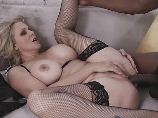 Erotic Blonde Milf Julia Ann Takes A Big Black Cock In Her Tight Pussy From My Mom Loves Black Men