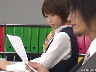 X Japanese nurse Nanami Kawakami moans via wild shacking up