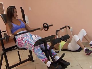 Homophile pussy eating too much b the best Maryana Kriguer & Regininha Gaucha
