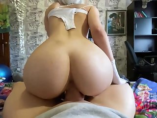 Steamy blondie is deep-throating penis like a real professional and opening up up in the matter of get screwed rigid