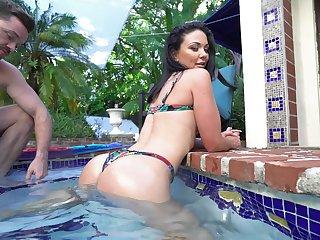 Crazy POV shows Latina beauty nigh merciless immutable sex