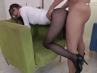 neighbour heels in pantyhose brazen heels