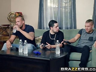 Brazzers - Mommy Got Boobs -  My Friends Fucked My Old woman instalment